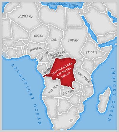 Střední Afrika - Kongo