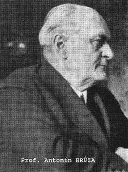 profesor Antonín Hrůza