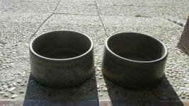 Misky betonové 2ks